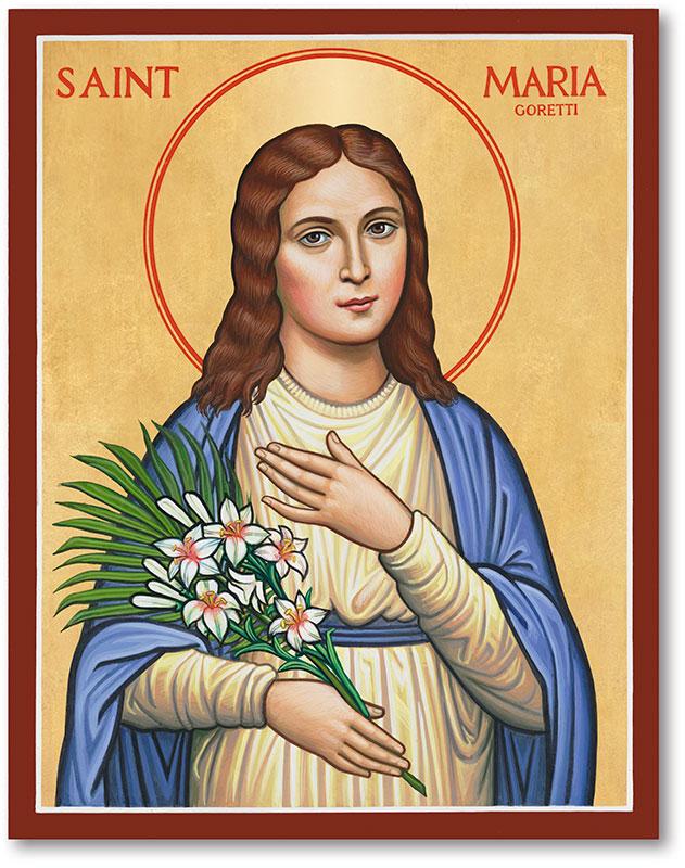 Saint Maria icon